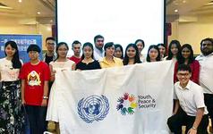 编程猫优秀学员参与联合国国际会议,创新形式表达和平惹人注意
